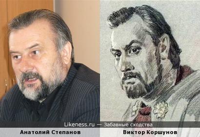 Публицист Анатолий Степанов напомнил портрет актера Виктора Коршунова в образе Бориса Годунова