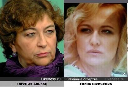 Елена Шевченко напомнила Евгению Альбац