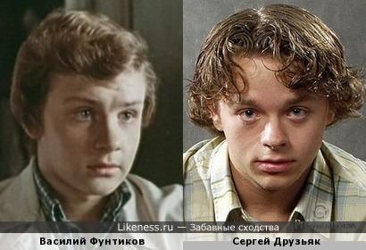 Актеры Василий Фунтиков и Сергей Друзьяк