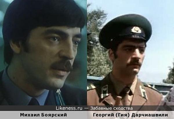 Михаил Боярский и Георгий (Гия) Дарчиашвили