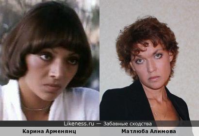 Карина Арменянц и Матлюба Алимова