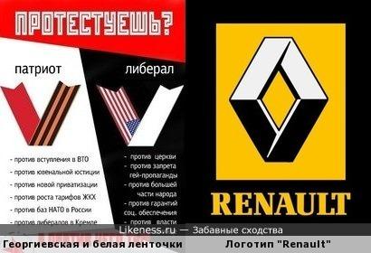 """Логотип """"Renault"""
