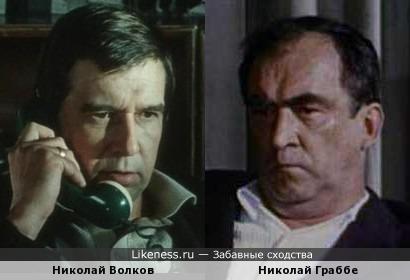 Николай Волков и Николай Граббе