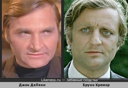 Джек ДеЛеон и Бруно Кремер
