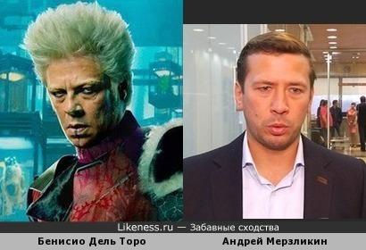 Бенисио Дель Торо напомнил Мерзликина