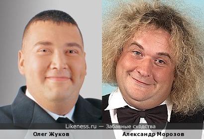 """Олег Жуков (""""Дискотека Авария"""") и Александр Морозов"""