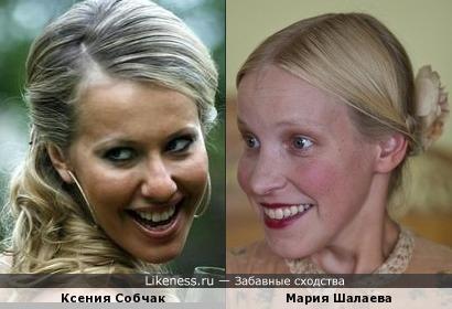 Журналистка либерального телеканала напомнила актрису Марию Шалаеву
