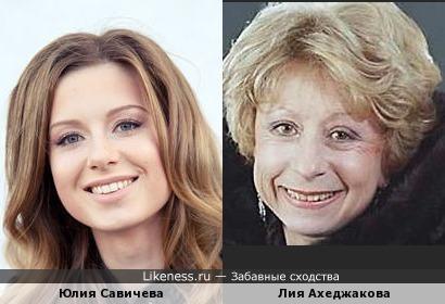 """Если снимать ремейк """"Титаника"""", то роль Розы в молодости и старости могли бы сыграть... )))"""