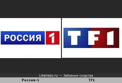 """Логотипы телеканала """"Россия-1"""