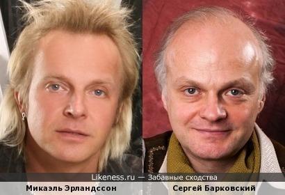 """Микаэль Эрландссон (""""Secret Service"""") и Сергей Барковский"""