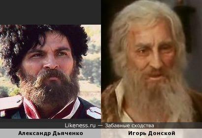 Александр Дьяченко и Игорь Донской в образах
