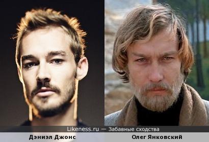 "Дэниэл Джонс (""Silverchair"") и Олег Янковский"