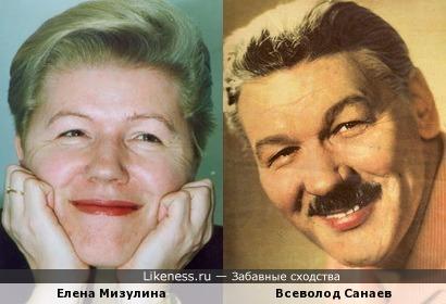 Елена Мизулина и Всеволод Санаев