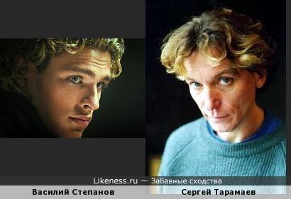 Василий Степанов и Сергей Тарамаев