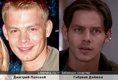 Дмитрий Ланской и Гэбриел Дэймон