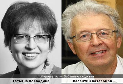 Публицисты Татьяна Воеводина и Валентин Катасонов
