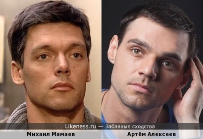 Актёры Михаил Мамаев и Артём Алексеев
