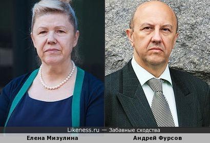 Елена Мизулина и Андрей Фурсов