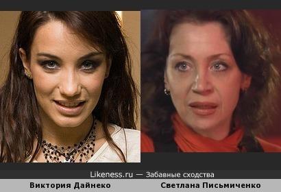 Виктория Дайнеко и Светлана Письмиченко