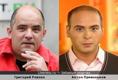Григорий Ревзин и Антон Привольнов