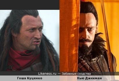 Пока не посмотрел трейлер к новому Питеру Пэну, не сомневался, что парень на правом фото - Куценко :)