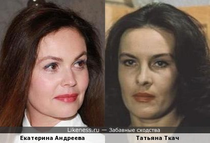 Екатерина Андреева и Татьяна Ткач