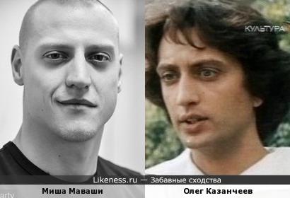 Миша Маваши и Олег Казанчеев