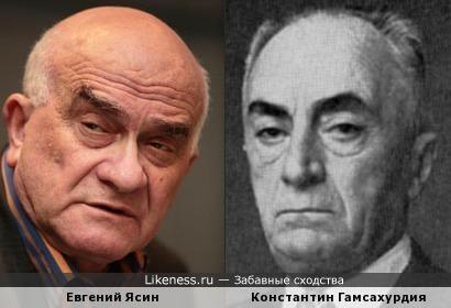 Евгений Ясин и Константин Гамсахурдия
