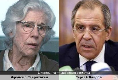 Фрэнсис Стернхаген/Сергей Лапвров
