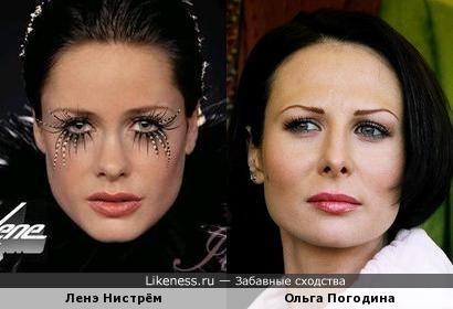 Ленэ Нистрём/Ольга Погодина