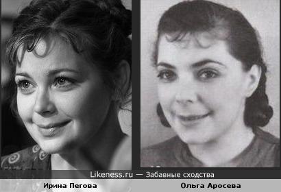 Две очаровательные актрисы