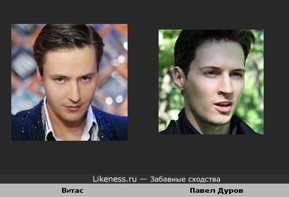 Витас и Дуров: ВКонтакте
