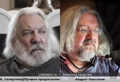 Кифер Сазерленд и Андрей Максимов