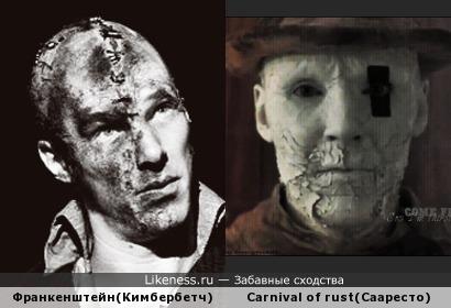 Carnival of rust + Франкенштейн