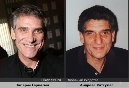 Валерий Гаркалин похож на Андреаса Катсуласа