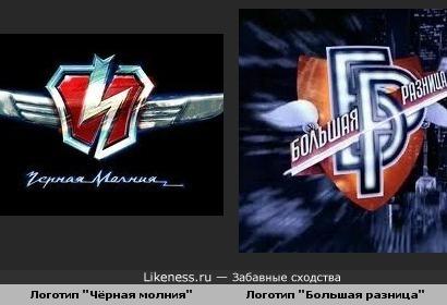Схожести двух логотипов