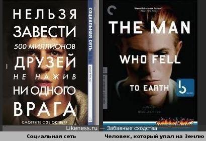 Схожести двух постеров фильмов