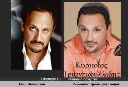 Стас Михайлов похож на греческого певца
