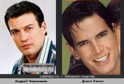 Русский и аргентинский актеры очень сильно похожи друг на друга