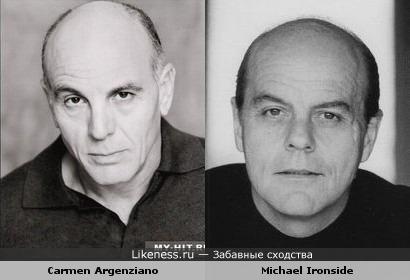 Carmen Argenziano похож на Michael Ironside