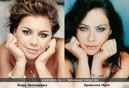 Теннисистка Вера Звонарева похожа на Орнеллу Мути