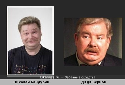 Николай Бандурин похож на Дядю Вернона