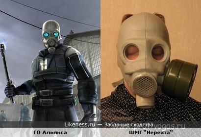 """Противогаз полицейского из HL2 на Млем-маску """"Нерехта"""""""