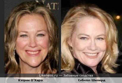 Две актрисы которых не раз путала.