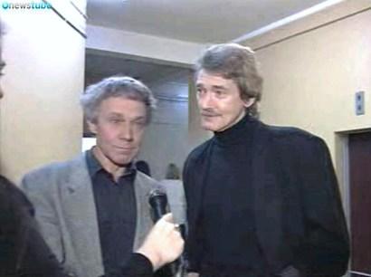 Игорь Старыгин в одной из телепередач (октябрь 1995 года)