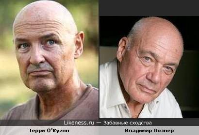 """Джон Локк из сериала """"Лост"""" похож на Владимира Познера"""