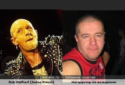 Инструктор из автошколы в Колпино похож на вокалиста Judas Priest