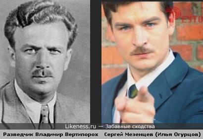 Илья Огурцов похож на Владимира Вертипороха