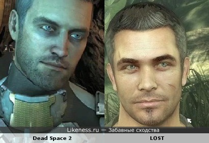 """Айзек Кларк из Dead Space 2 похож на персонажа игры """"Остаться в Живых"""""""