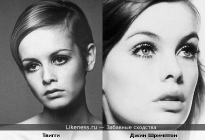 Две модели похожи